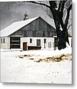 The Big Barn Metal Print