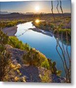 The Big Bend Metal Print