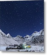 The Big Dipper Rise Above The Himalayas Metal Print