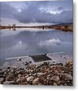 The Big Drain Metal Print