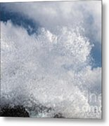 The Big Splash Metal Print