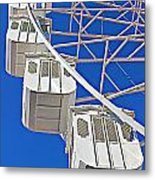 The Big Wheel Metal Print