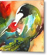 The Bird And The Flower 03 Metal Print