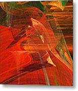 The Bird Whisperer . A120423.693 Metal Print