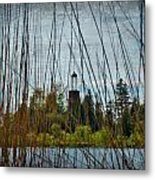 The Birdcage Lighthouse Of Baileys Harbor Paint  Metal Print