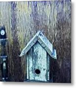 The Birdhouse Metal Print