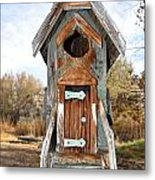 The Birdhouse Kingdom - Belted Kingfisher Metal Print