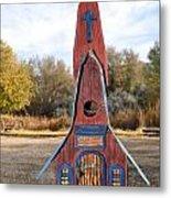The Birdhouse Kingdom - Clark's Nutcracker Metal Print