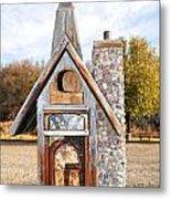 The Birdhouse Kingdom - The American Coot Metal Print