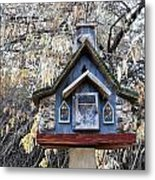The Birdhouse Kingdom - The Cordilleran Flycatcher Metal Print