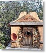 The Birdhouse Kingdom - The Evening Grosbeak Metal Print
