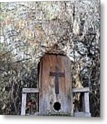 The Birdhouse Kingdom - The Olive-sided Flycatcher Metal Print