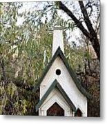 The Birdhouse Kingdom - The Pileated Woodpecker Metal Print