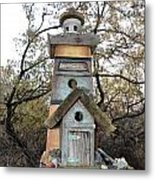 The Birdhouse Kingdom - The Sea Bird Metal Print