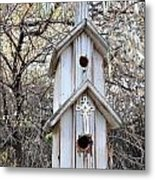 The Birdhouse Kingdom - The Western Wood-pewkk Metal Print