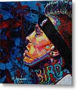 The Birdman Chris Andersen Metal Print by Maria Arango