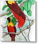 The Birds Of Paradise Metal Print