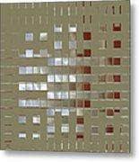The Birth Of Squares No 1 Metal Print by Ben and Raisa Gertsberg