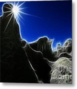 Magical Earth 2 Metal Print