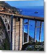 The Bixby Bridge  Metal Print by Marco Crupi