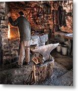 The Blacksmith Metal Print