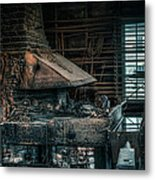 The Blacksmith's Forge - Industrial Metal Print
