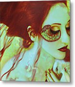 The Bleeding Dream - Self Portrait Metal Print
