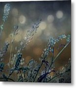 The Bling Of Blue Metal Print