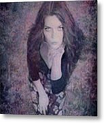 The Blown Kiss Metal Print