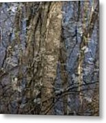 The Blue And The Gray Metal Print