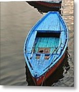 The Blue Boat Metal Print by Kim Bemis