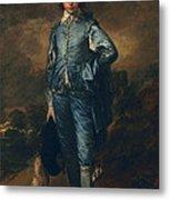 The Blue Boy, C.1770 Metal Print