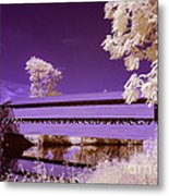 The Blue Bridge Metal Print
