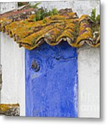 The Blue Corner In The White House Metal Print