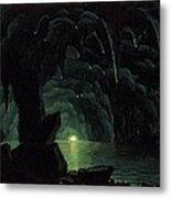 The Blue Grotto Metal Print by Albert Bierstadt