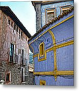 The Blue House Metal Print