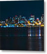 The Blue Monster Metal Print