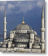 The Blue Mosque In Istanbul Metal Print