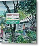 The Blue Mountains Of Jamaica Metal Print