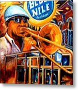 The Blue Nile Jazz Club Metal Print
