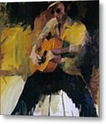 The Blues Man Metal Print