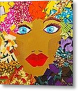 The Bluest Eyes Metal Print