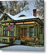 The Blustery Day Metal Print