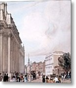 The Board Of Trade, Whitehall Metal Print