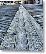 The Boardwalk Metal Print by JC Findley