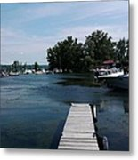 The Boat Dock  Metal Print