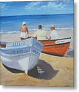 The Boaters Metal Print