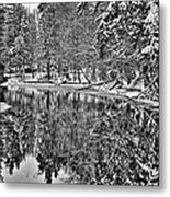 The Boathouse In Old Forge Metal Print