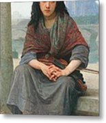 The Bohemian Metal Print by William Adolphe Bouguereau