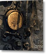 The Boiler Gauge Metal Print